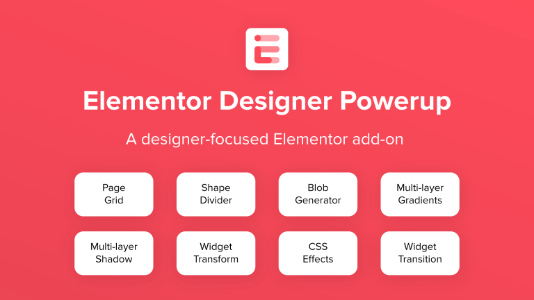 Elementor Designer Powerup Featured Image