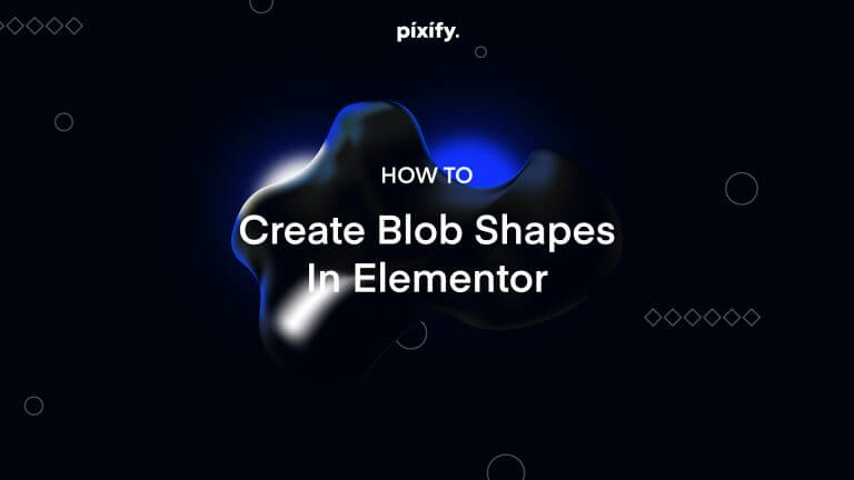 Create Blob Shapes in Elementor