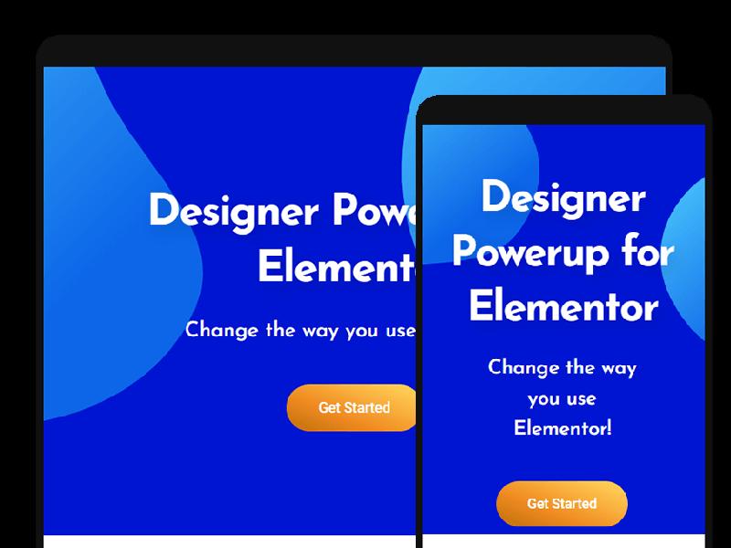 Blob Generator - Designer Powerup for Elementor